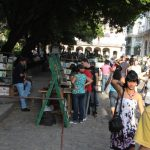 книжный букинистический рынок на площади Плаза де Армос